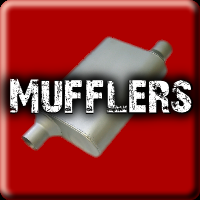 Stainless Steel and Aluminized Mufflers